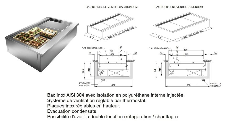 bar r frig r fr produits bacs r frig r s ou chauffants. Black Bedroom Furniture Sets. Home Design Ideas